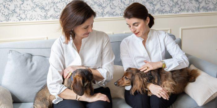photo avec les 2 chiens
